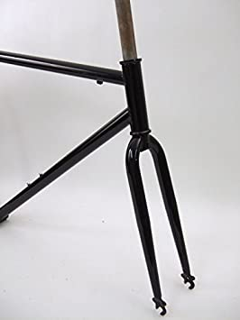 Unbranded acero pista sola velocidad Fixie 700 C bicicleta ...