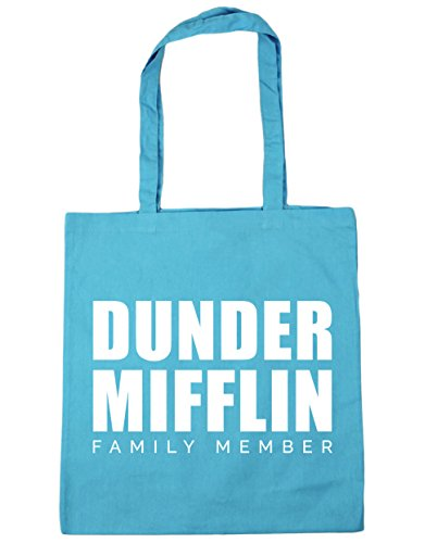 Dunder 42cm Beach Tote litres Blue Surf x38cm Gym member 10 family Shopping mifflin Bag HippoWarehouse adwpBzxqq