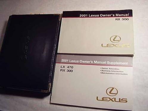 2001 lexus rx300 owners manual lexus amazon com books rh amazon com 2000 lexus rx300 owners manual pdf download 2001 lexus rx300 owners manual download
