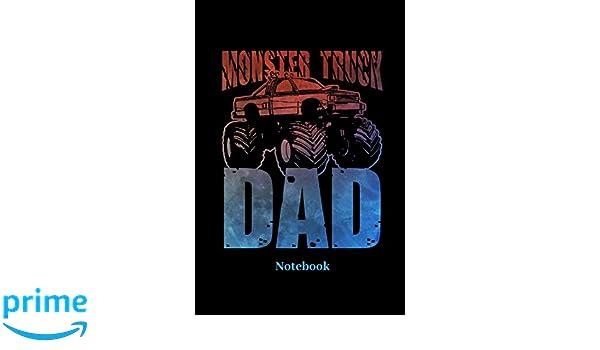 Monster Truck Dad Notebook Liniertes Notizbuch Für Auto