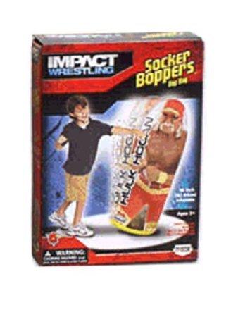 Socker Boppers Impact Wrestling Hulk Hogan 36' Bop Bag