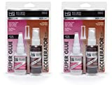 Bob Smith Industries BSI-157H Maxi Cure/Insta-Set Combo Pack (3 oz. Combined) (Тwо Расk)