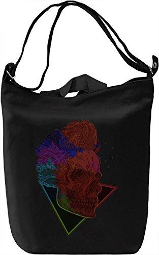 Boy Skull Borsa Giornaliera Canvas Canvas Day Bag| 100% Premium Cotton Canvas| DTG Printing|