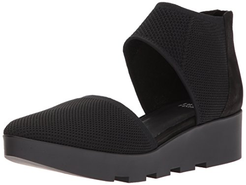 Eileen Fisher Women's Ogden Mary Jane Flat, Black, 8 M US by Eileen Fisher