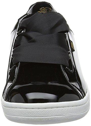 Sublime Lico para Zapatillas Schwarz Schwarz Mujer Negro p4r4x6nv