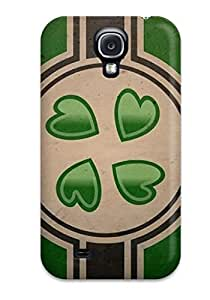 Forever Collectibles Best Chanflag Hard Snap-on Galaxy S4 Case