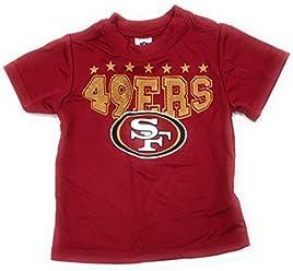 4227e9d6d Gerber Childrenswear. Gerber NFL San Francisco 49ers Baby Boy Toddler Red  Performance T-Shirt