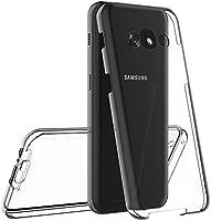 AICEK Funda Samsung Galaxy A5 2017, Transparente Silicona 360°Full ...