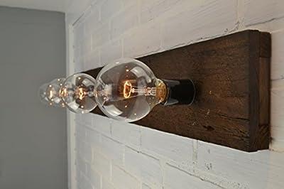 Wood Vanity Light