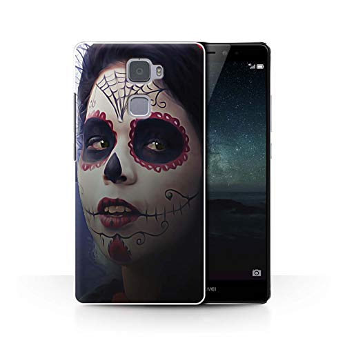 STUFF4 Phone Case/Cover for Huawei Mate S/Halloween Makeup Design/Day of The Dead Festival Collection