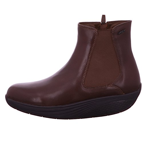 Arusi 025n W Bottines Femme Dark Noir Marron MBT 6s Wood BwvqpwT
