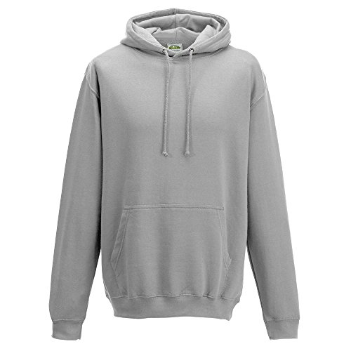 Just Hoods - Unisex College Hoodie / Moondust Grey, XL