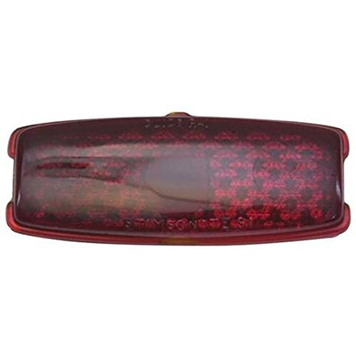 (1941-1948 Chevy Tail Light Replacement Lens, Passenger)