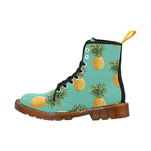 Scarpe Da D-story Ananas Stringate Con Gli Stivali Fahion Da Donna