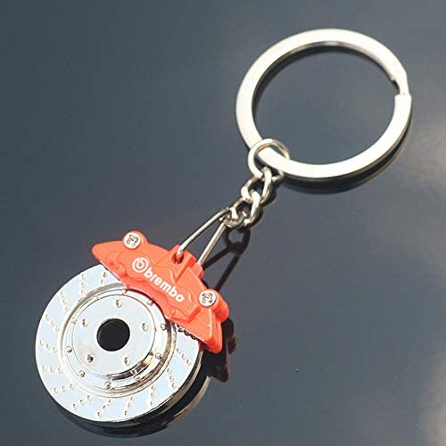 Kentop portachiavi in metallo Key Ring auto portachiavi con freno a disco auto ciondolo