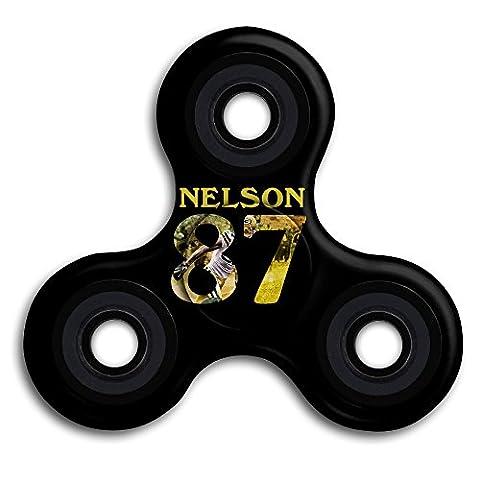 Green Bay Packers Jordy Nelson 87 Tri Fidget Finger Toy Hand Spinner (Packer Jordy)