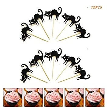 Carnival Halloween Party Ideas.Amazon Com Halloween Cupcake Toppers 10pcs Vampire