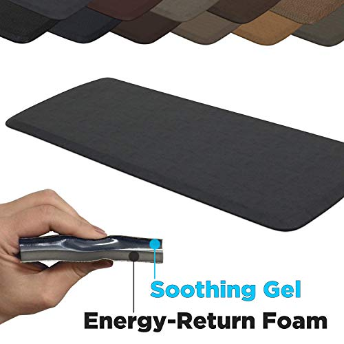 GelPro Elite Premier Anti-Fatigue Kitchen Comfort Floor Mat, 20x48