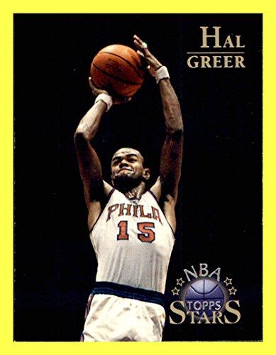 1996 Topps Stars #19 Hal Greer PHILADELPHIA 76ers MARSHALL