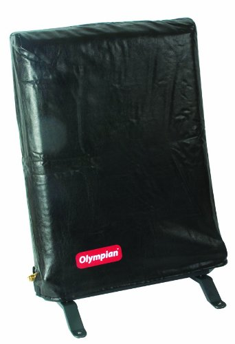 Camco Olympian Wave Heater 8 Dust Cover  - Helps Keep Dust and Debris Off of The Catalytic Heating Pad  Custom Fitted Portable Stand Style Cover   Easy Use and Maintenance - (57724)