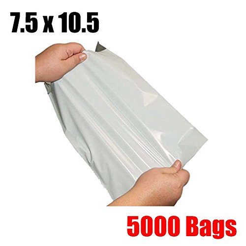 iMBAPrice 5000 7.5x10.5 WHITE POLY MAILERS ENVELOPES BAGS 7.5 x 10.5 by iMBAPrice