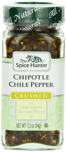 The Spice Hunter Crushed Chile Pepper Chipotle, 1.2-Ounce Jar (Pack of 3) by Spice Hunter