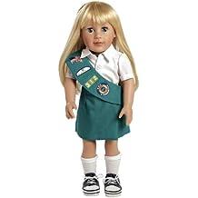"Adora Play Doll Chloe - Girl Scout Jr. 18"" Doll & Costume"