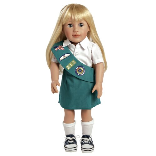 Brownie Girl Scout Costume - Adora Play Doll Chloe - Girl Scout Jr. 18