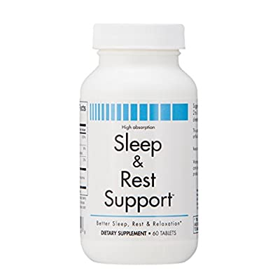 Sleep & Rest Support – Chewable Vitamin and Mineral Tablet – Calcium Magnesium Supplement to Help Against Insomnia