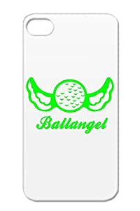 Anti-drop Golf For Iphone 4/4s Green Golf Sports Case Cover