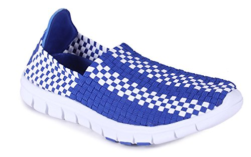 Comfy Feet KEN09-10 - Kentucky Wildcats - 10 - Happy Feet Mens and Womens Woven Shoe