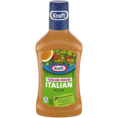 - Kraft Tuscan House Italian Dressing (16 oz Bottle)