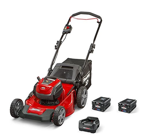 Snapper XD SXDWM82K 82V Cordless 21-Inch Walk Mower Kit with (2) 2Ah Battery & (1) Rapid Charger, 1687884 (Lawn Battery Mower Snapper)