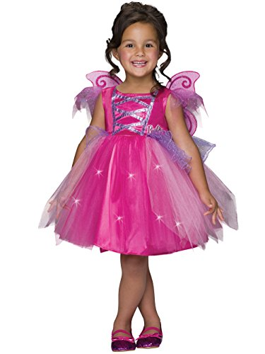 Barbie Light-Up Fairy Dress Costume, Child's (Barbie Costumes For Kids)