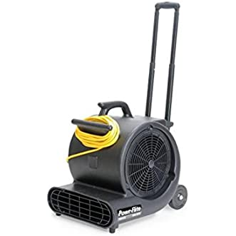 Powr-Flite PD500DX Carpet Dryer/Air Mover with Handle and Wheels, 1/2 hp