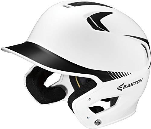Easton Junior Z5 2Tone Batters Helmet, White/Black