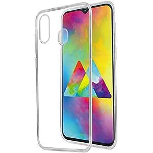 Samsung Galaxy M20 Case Shock Absorbing Ultra-Thin Flexible Rubber Clear Soft TPU Bumper Case Cover for Samsung Galaxy M20