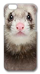 Big Ferret Face PC Case Cover for iphone 6 4.7inch by mcsharks