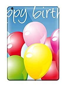 BayyKck Fashion Protective Happy Birthday Case Cover For Ipad Air by lolosakes