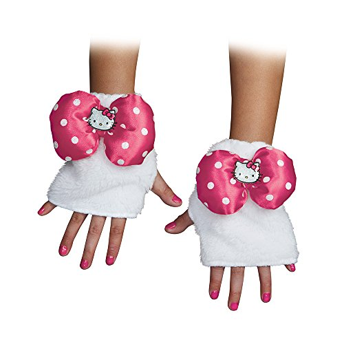 Hello Kitty Pink Child Glovettes (Hello Kitty Halloween Costume For Kids)