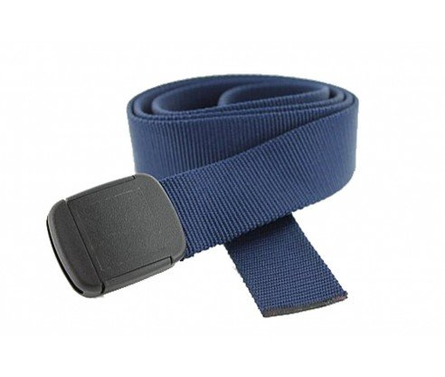 Hiker Belt Made in USA by Thomas Bates (navy) - Belts Web Clothing Accessories
