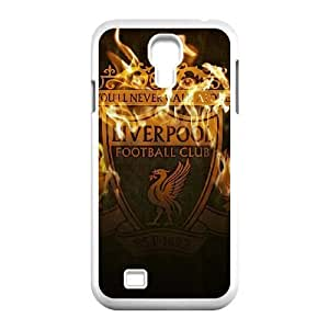 Samsung Galaxy S4 I9500 Phone Cases White Liverpool Logo DFJ555263