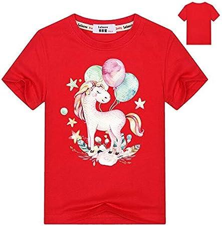سترات بقلنسوة وبلوزات - سويت شيرت بقلنسوة مطبوع عليه حصان حيوانات للأطفال والأولاد لفصل الخريف وقمم بقلنسوة ملابس الطلاب مطبوع عليها Love Horse Tracksuit (أحمر 8T)