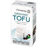 Tofu sedoso japonés Clearspring, 300g