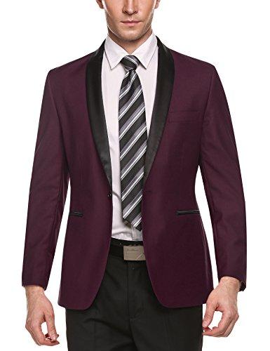 One Button Suit Jacket - 5