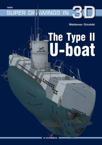 Navy U-boat Type - The Type II U-boat (Super Drawings in 3D)