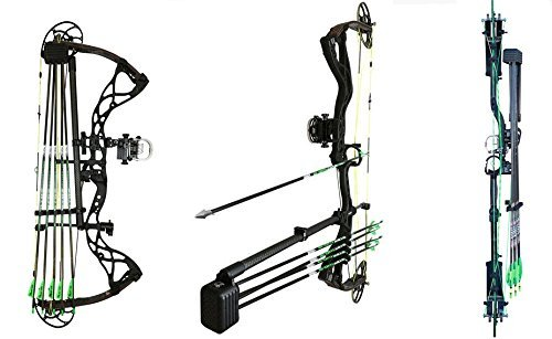 Option Archery Carbon Quivalizer (5 Arrow Capacity)