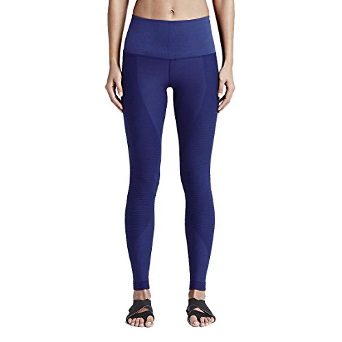 Nike Zoned Sculpt Womens Training Tights (X-Small, Deep Royal Blue/Black)