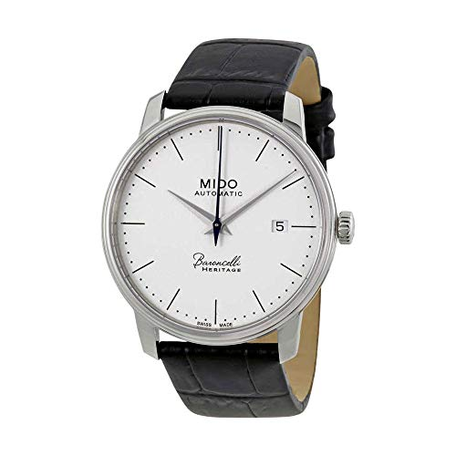 Mido Baroncelli III Automatic White Dial Mens Watch M027.407.16.010.00
