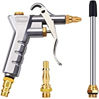 """Astarye Pneumatisch pistool Luchtblaaspistool Blaaspistool Luchtcompressorstofdoek voor 1/4""""NPT en 1/4"""" BSP…"""